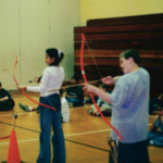 BEFORE THERE WAS ARCHERY IN THE SCHOOLS LOL
